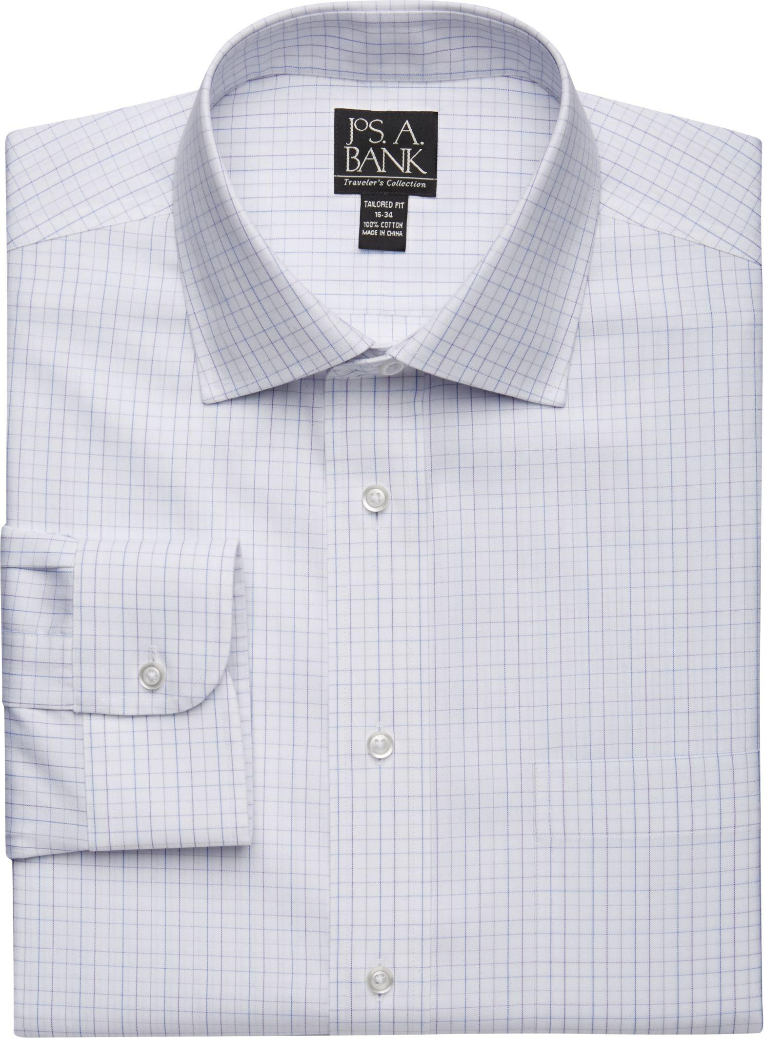 Lyst Jos A Bank Traveler Collection Slim Fit Spread