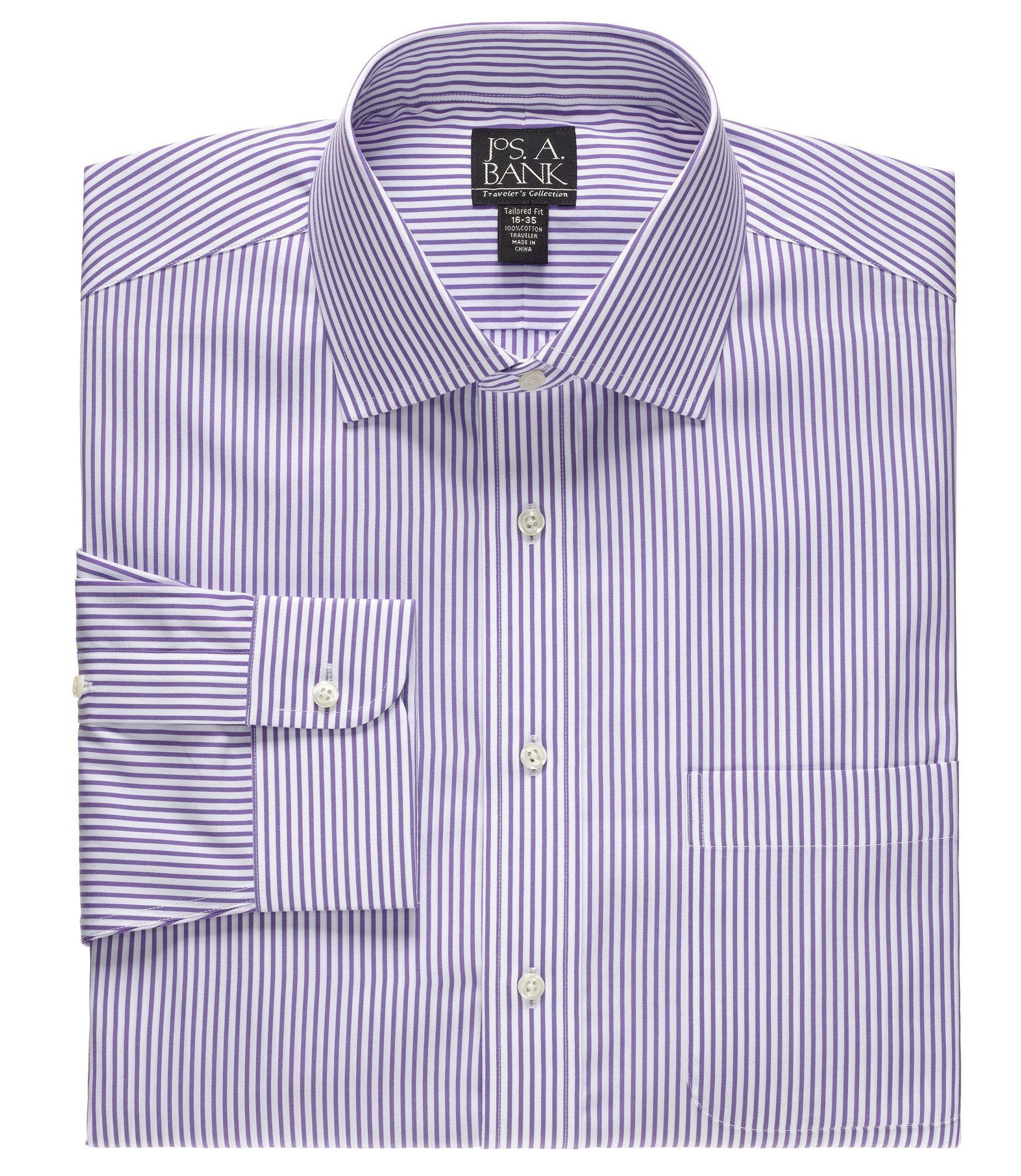 Lyst Jos A Bank Traveller Collection Slim Fit Spread