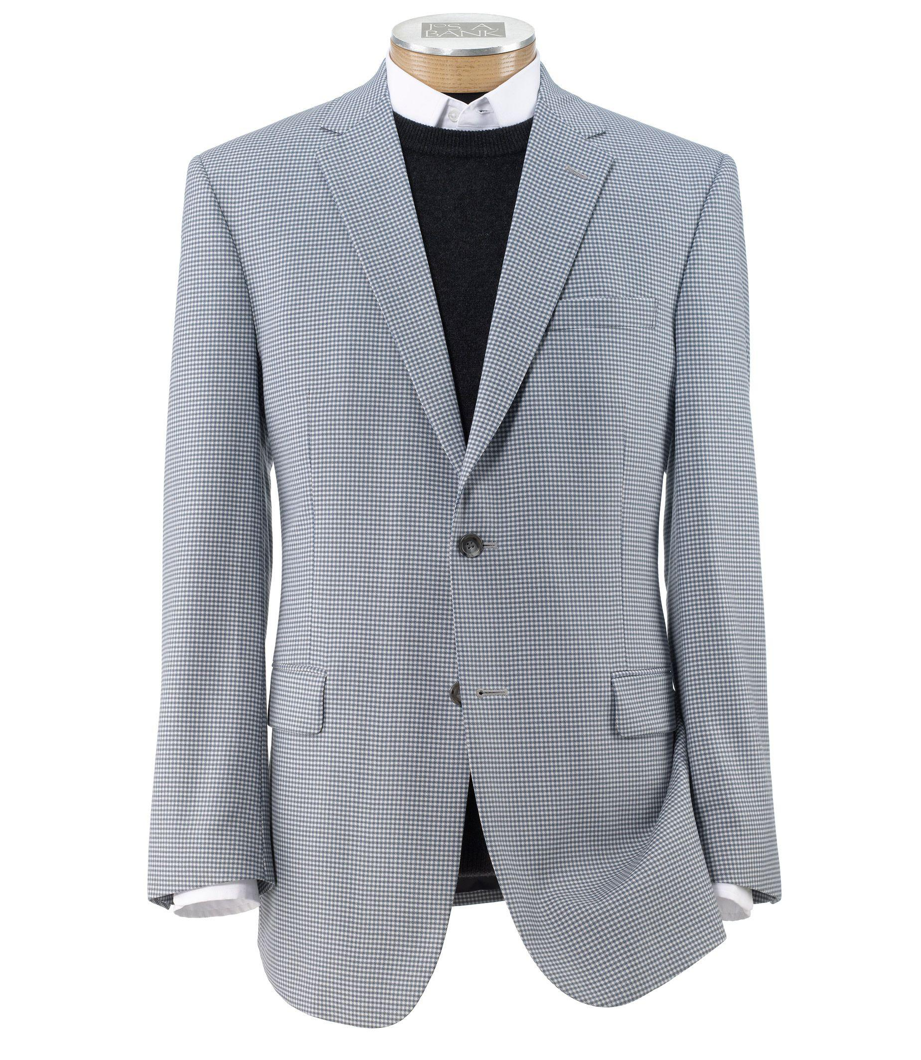 Jos. a. bank Traveler Tailored Fit 2-button Sportcoat Clearance in ...