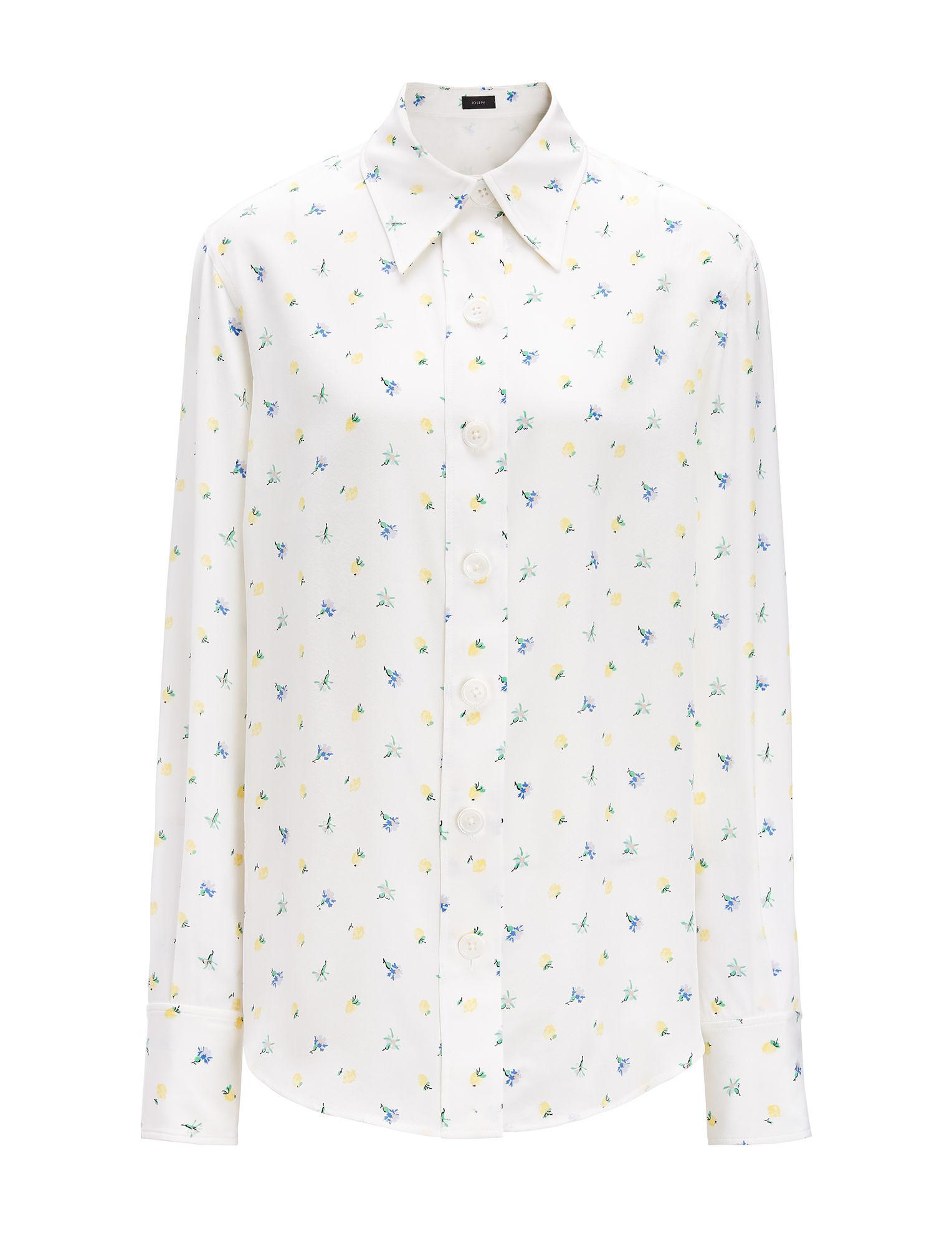 Best Authentic New Garcon polka-dot print shirt Joseph Free Shipping Countdown Package Free Shipping Explore qCIC97Idd