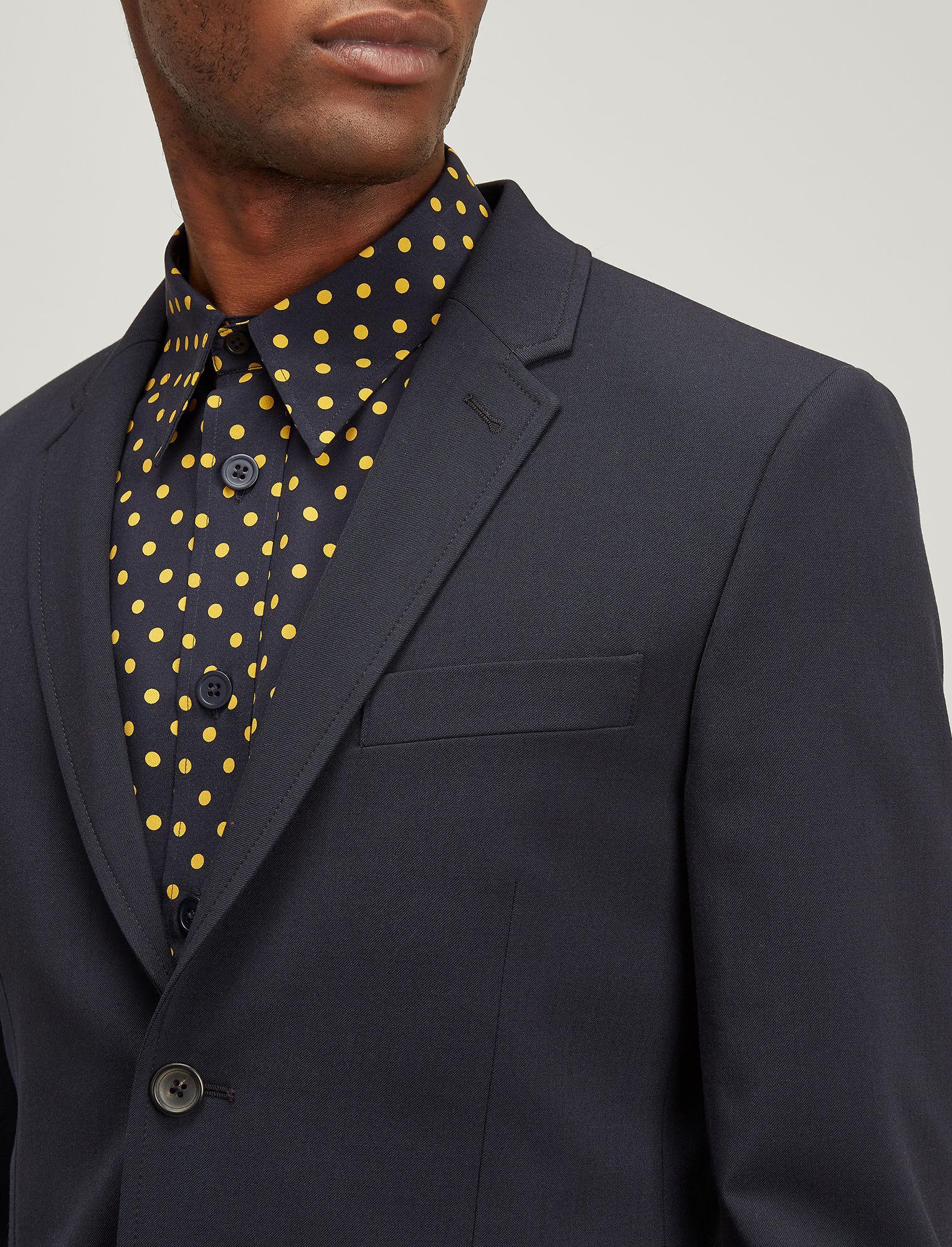 0f34df60f7 JOSEPH Techno Wool Stretch Reading Jacket in Blue for Men - Lyst