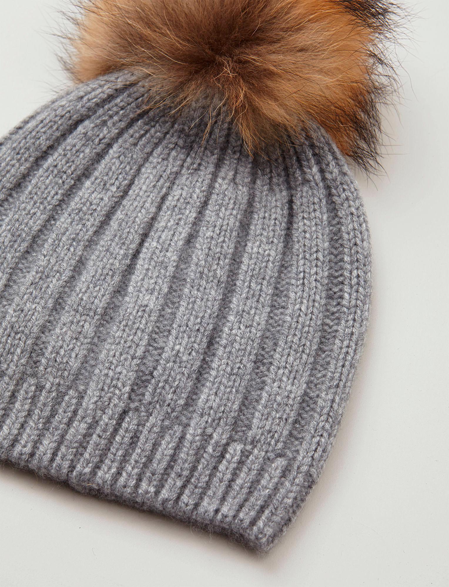 48d5d080268 JOSEPH Cashmere Luxe Pompon Hat - Lyst
