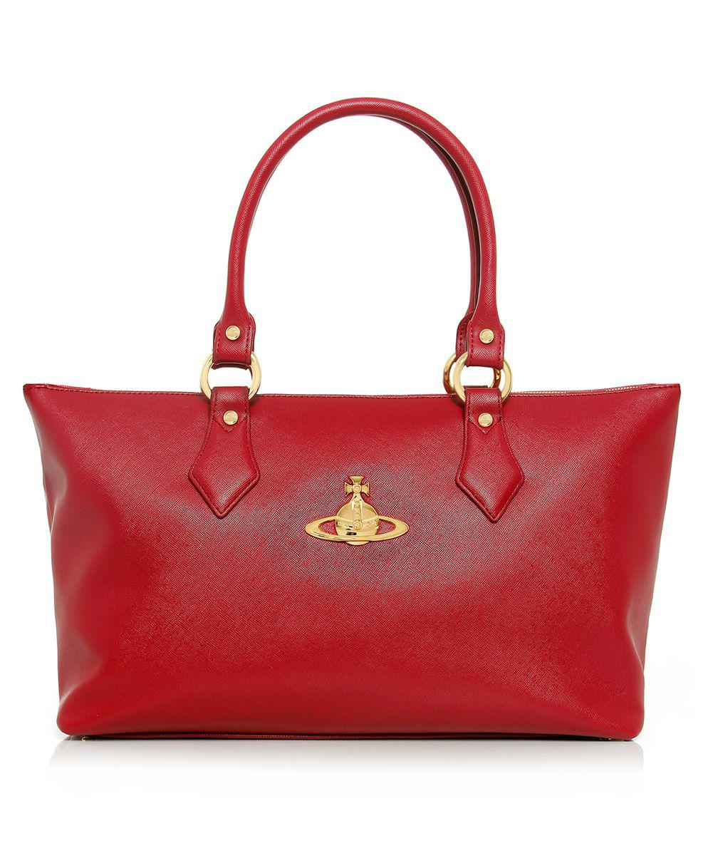 Vivienne Westwood Divina Tote Bag in Red - Lyst 1e5e07609d006