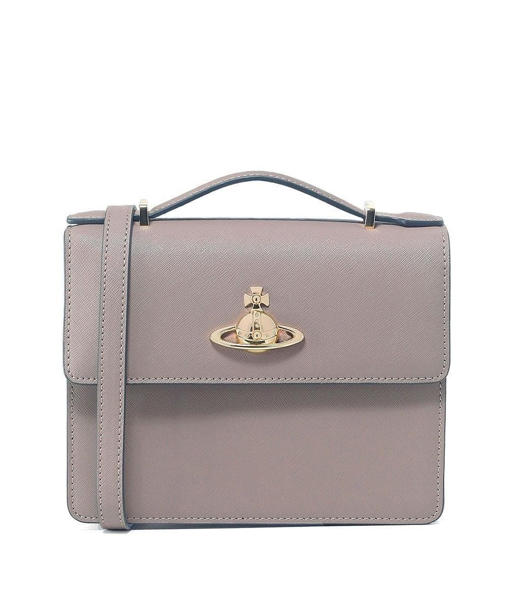 5a62a50b6f05 Vivienne Westwood Pimlico Shoulder Bag in White - Lyst