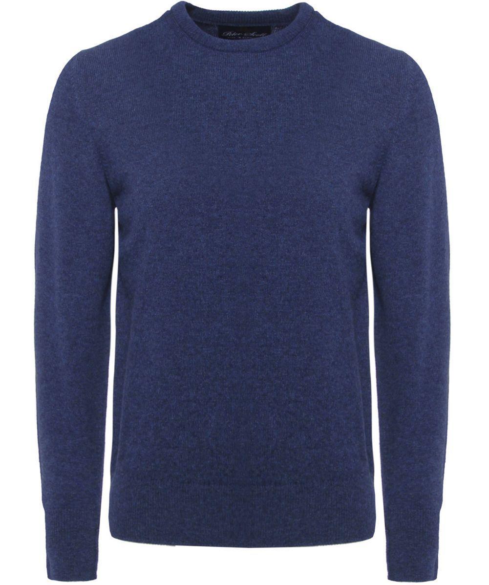 868765a8769 Peter Scott Braemar Wool Crew Neck Jumper in Blue for Men - Lyst