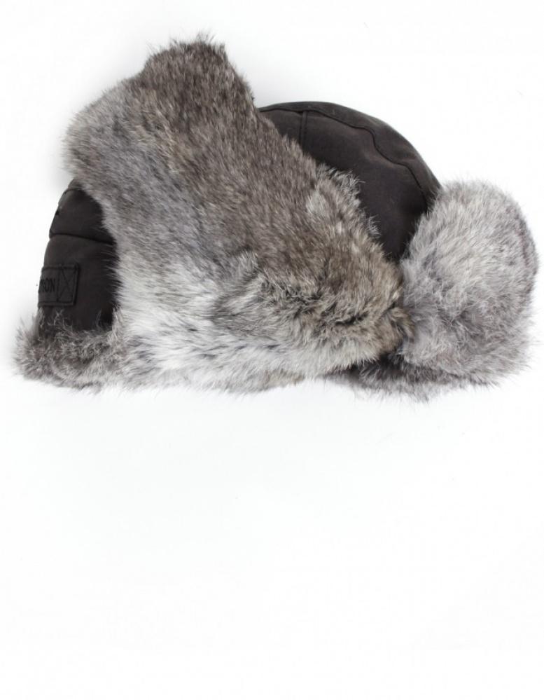521f7134c4d Stetson Boulder Fur Trapper Hat in Black for Men - Lyst