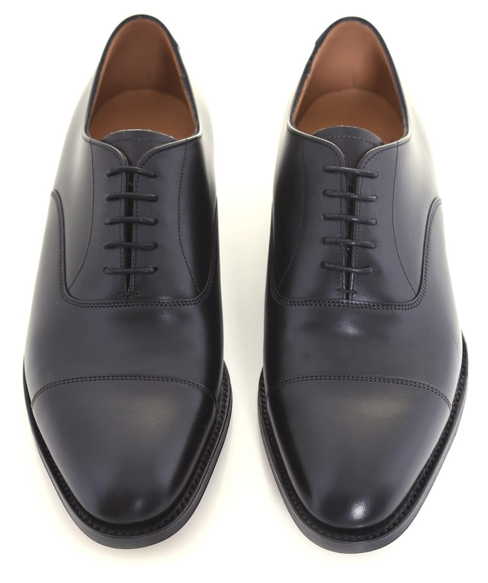 cc1dcebc4cf02 Lyst - Cheaney Calf Leather Lime Oxford Shoes in Black for Men