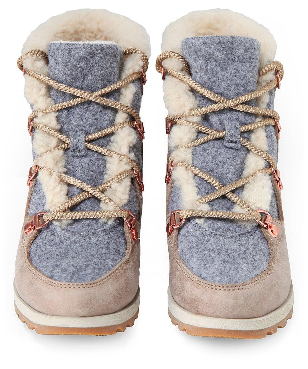 Lyst Sorel Suede Sneakchic Alpine Holiday Boots