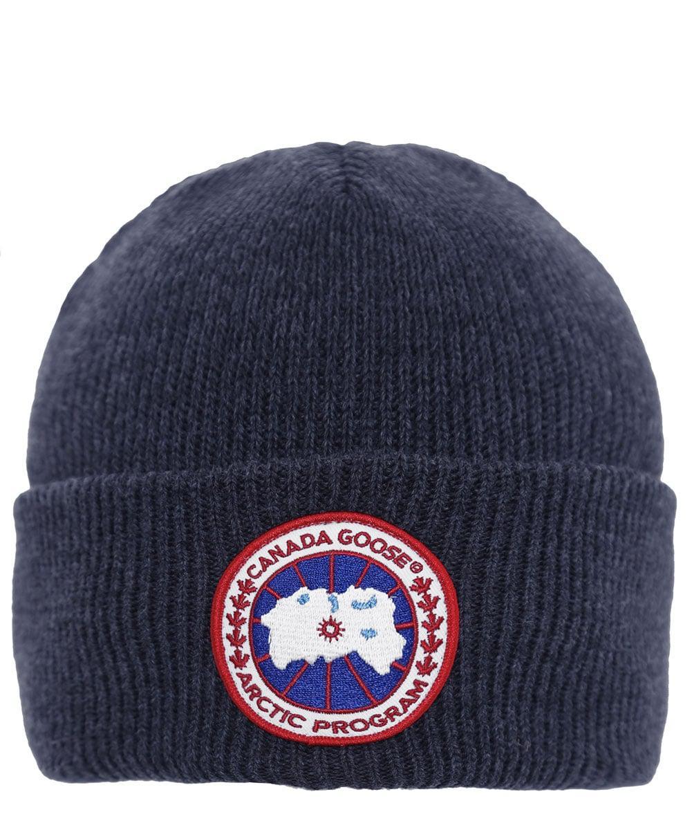 834b7ae4cc2 Lyst - Canada Goose Arctic Disc Toque Hat in Blue for Men