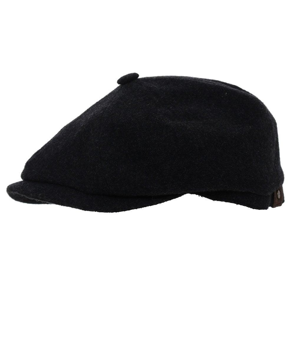 fc4c8f0e78773 Stetson Wool Blend Hatteras Cap in Gray for Men - Lyst