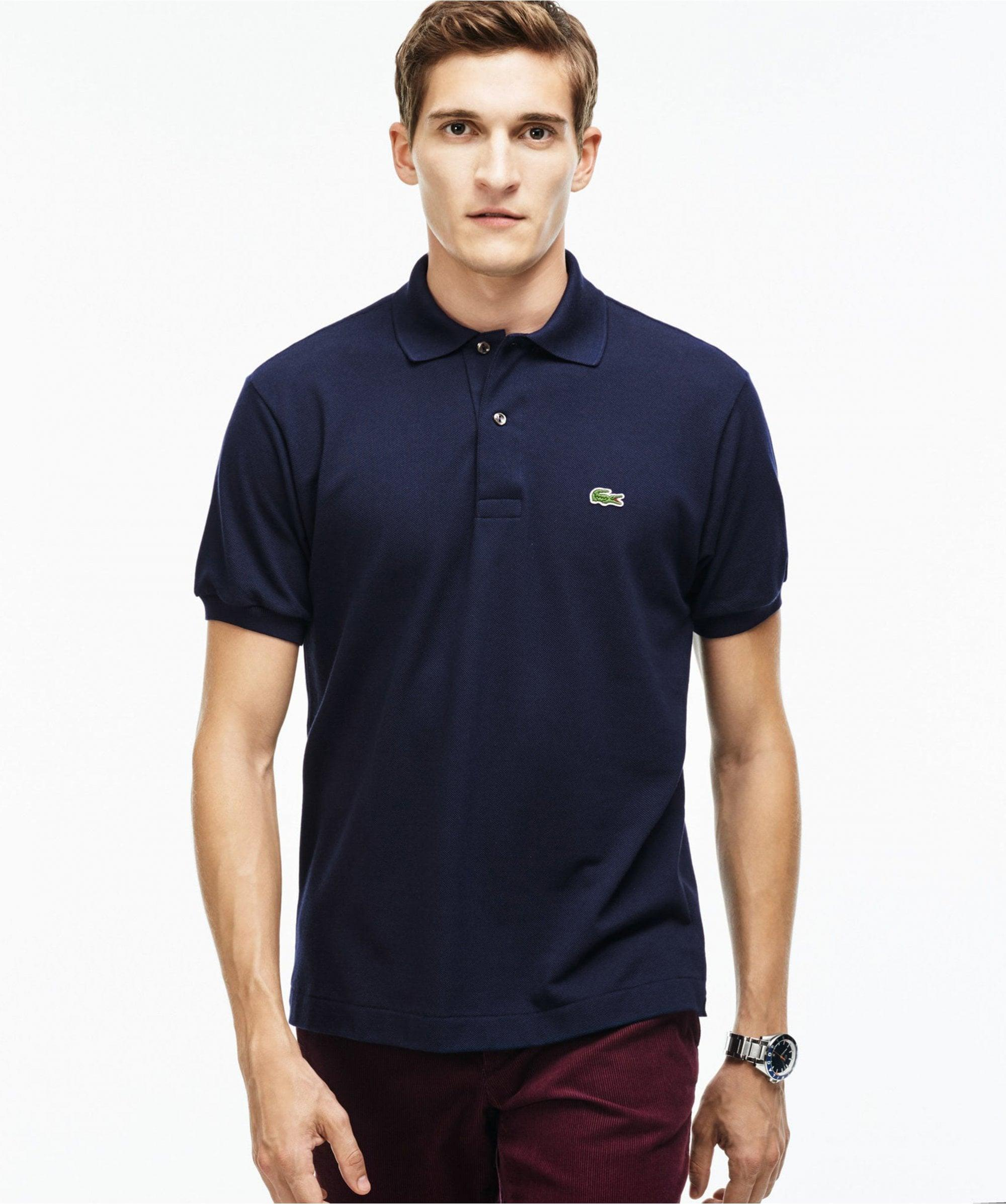 9d4ef322f Lyst - Lacoste L.12.12 Polo Shirt in Blue for Men