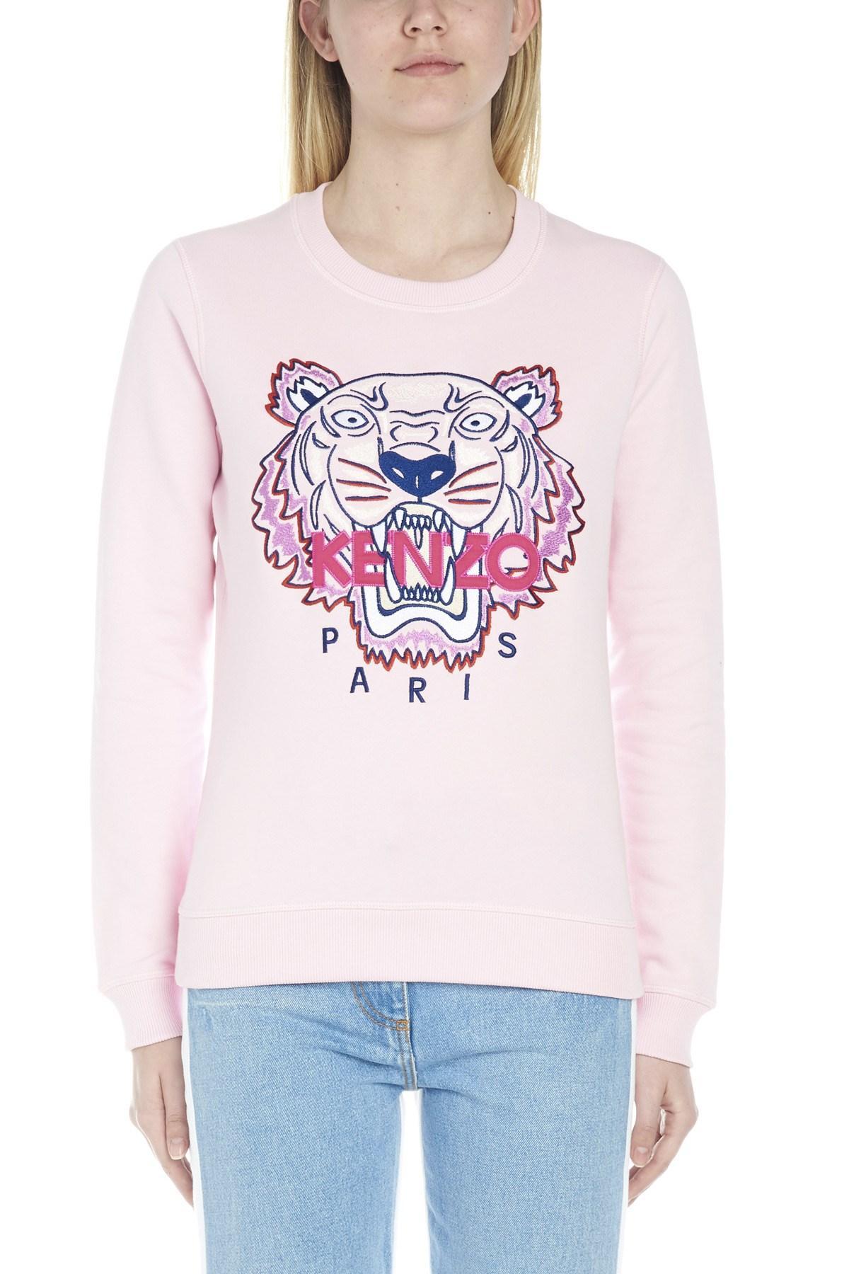 1404d613 KENZO - Pink Tiger Sweatshirt - Lyst. View fullscreen