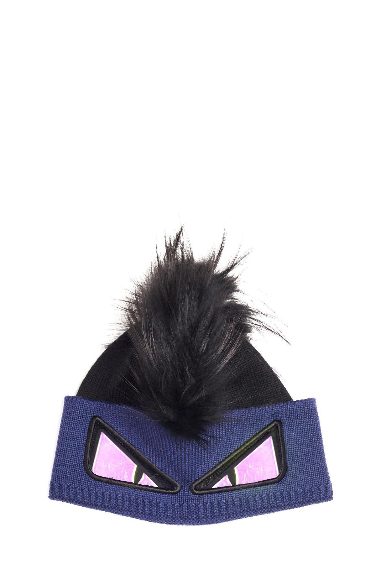bd0d4b1bb11 Lyst - Fendi  bugs  Beanie in Black