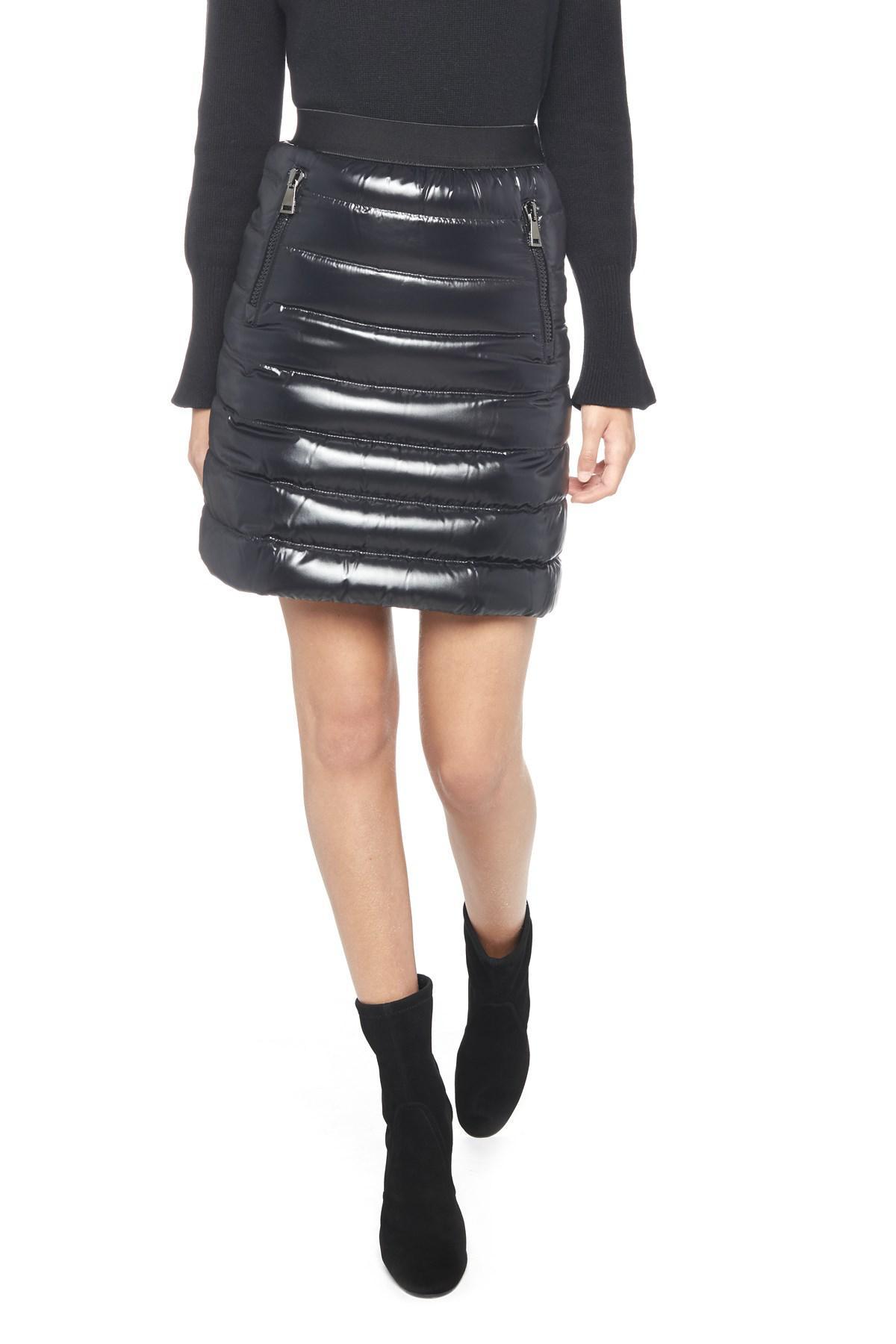 moncler black skirt