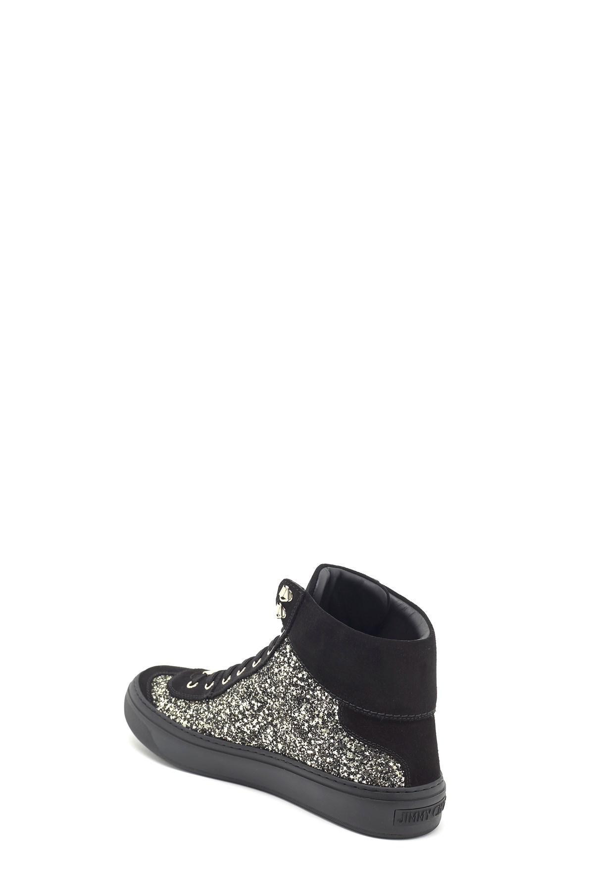 6007adf0e679 Jimmy Choo - Black  argyle  Sneakers for Men - Lyst. View fullscreen