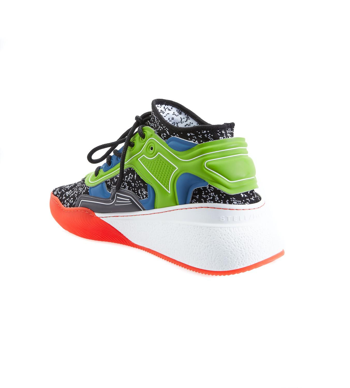 best loved bf62a a9ac8 stella-mccartney-Multicolor-Glueless-Multicolor-Running-Sneakers.jpeg