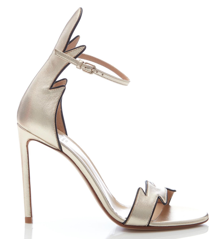 8d675791736 Francesco Russo. Women s Flame Ankle Strap Heels