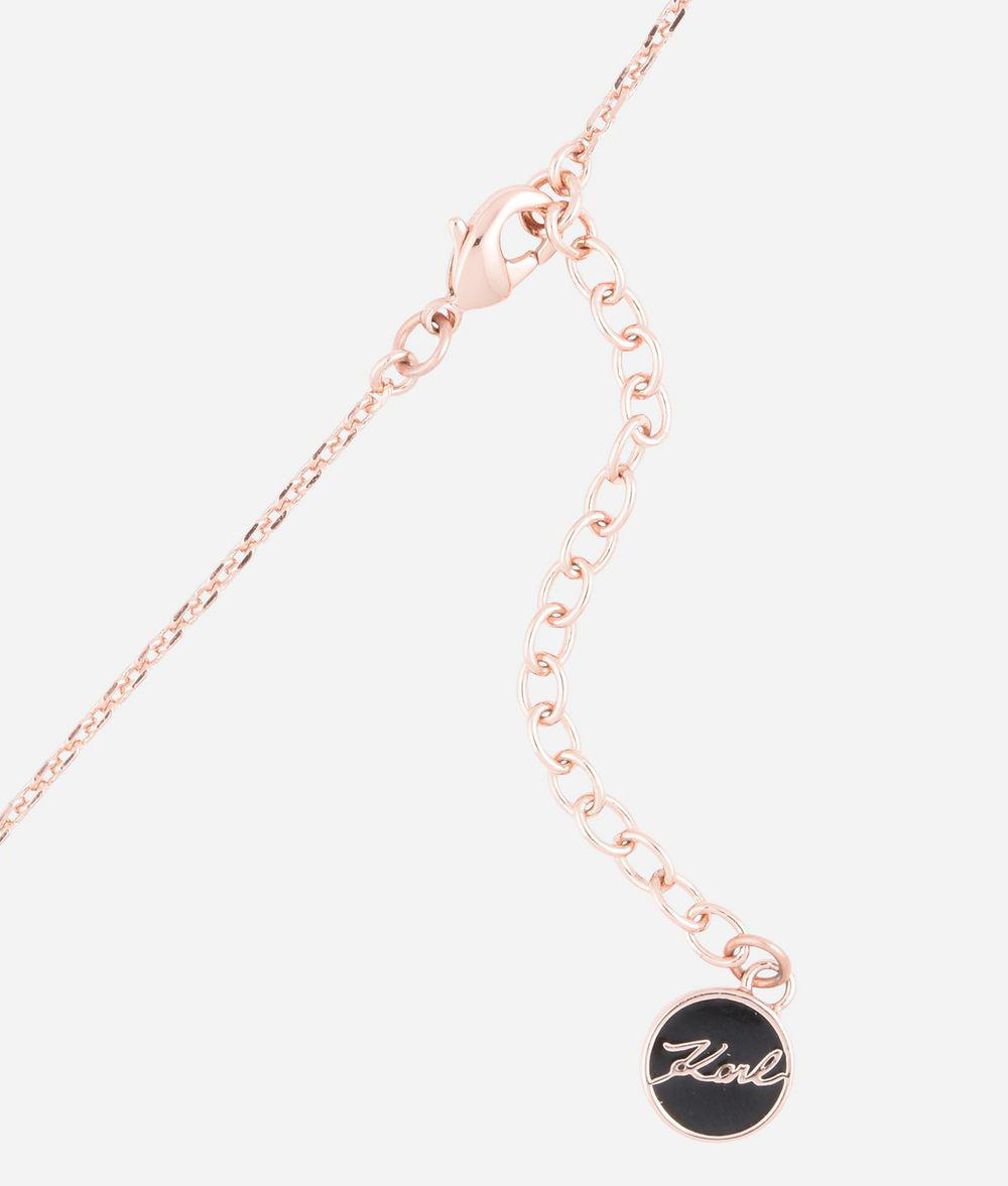 multiple chain necklace - Metallic Karl Lagerfeld S2i3uP3msb