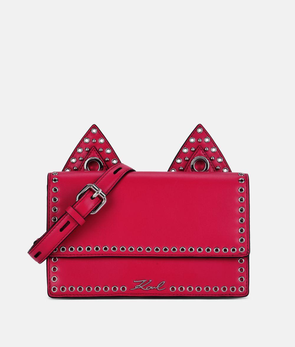 K/Rocky Choupette camera bag - Pink & Purple Karl Lagerfeld ggztk6D48S