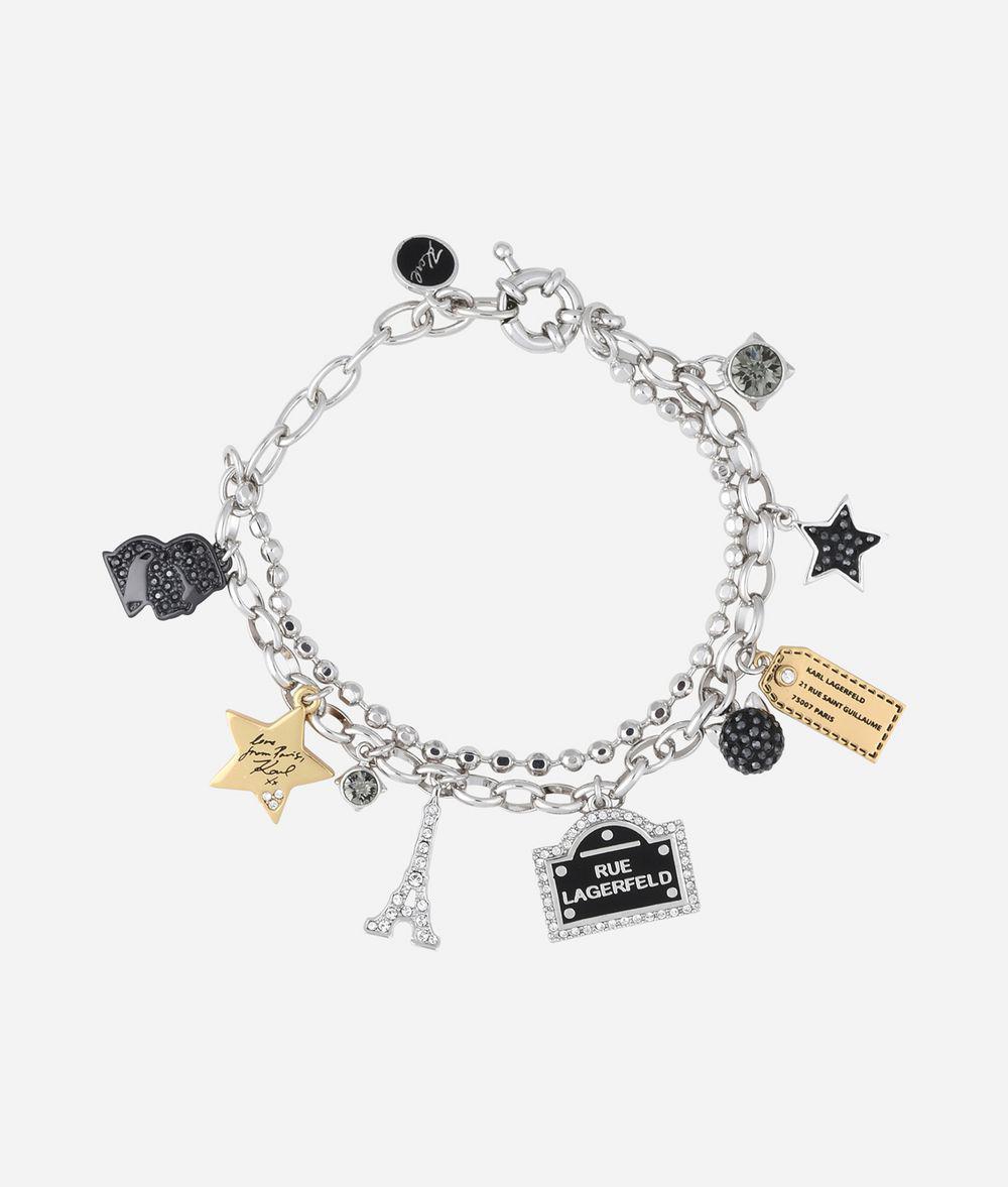 Karl signature bracelet - Metallic Karl Lagerfeld oRKpnLcK