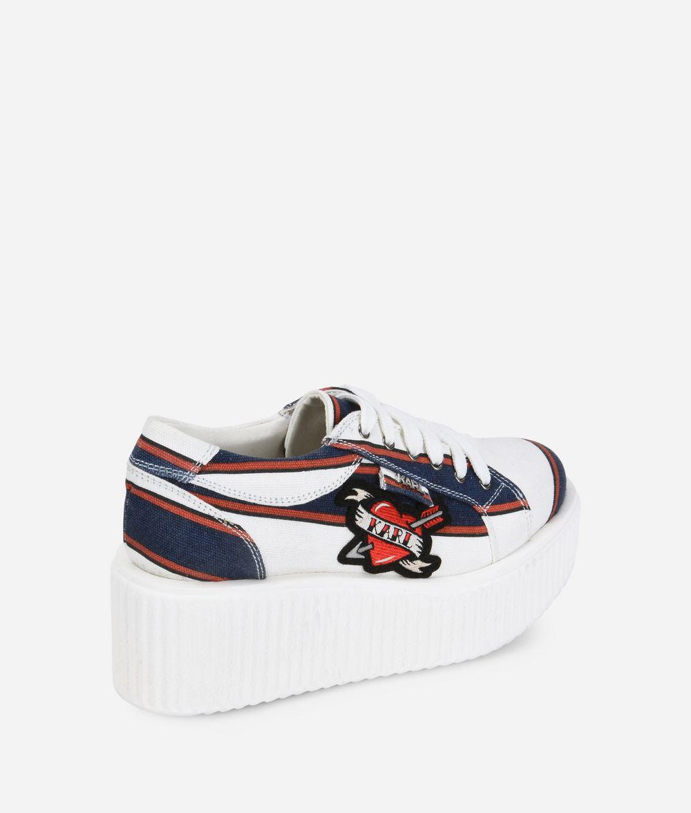 Karl Lagerfeld KREEPER Captain Karl Lace Shoe