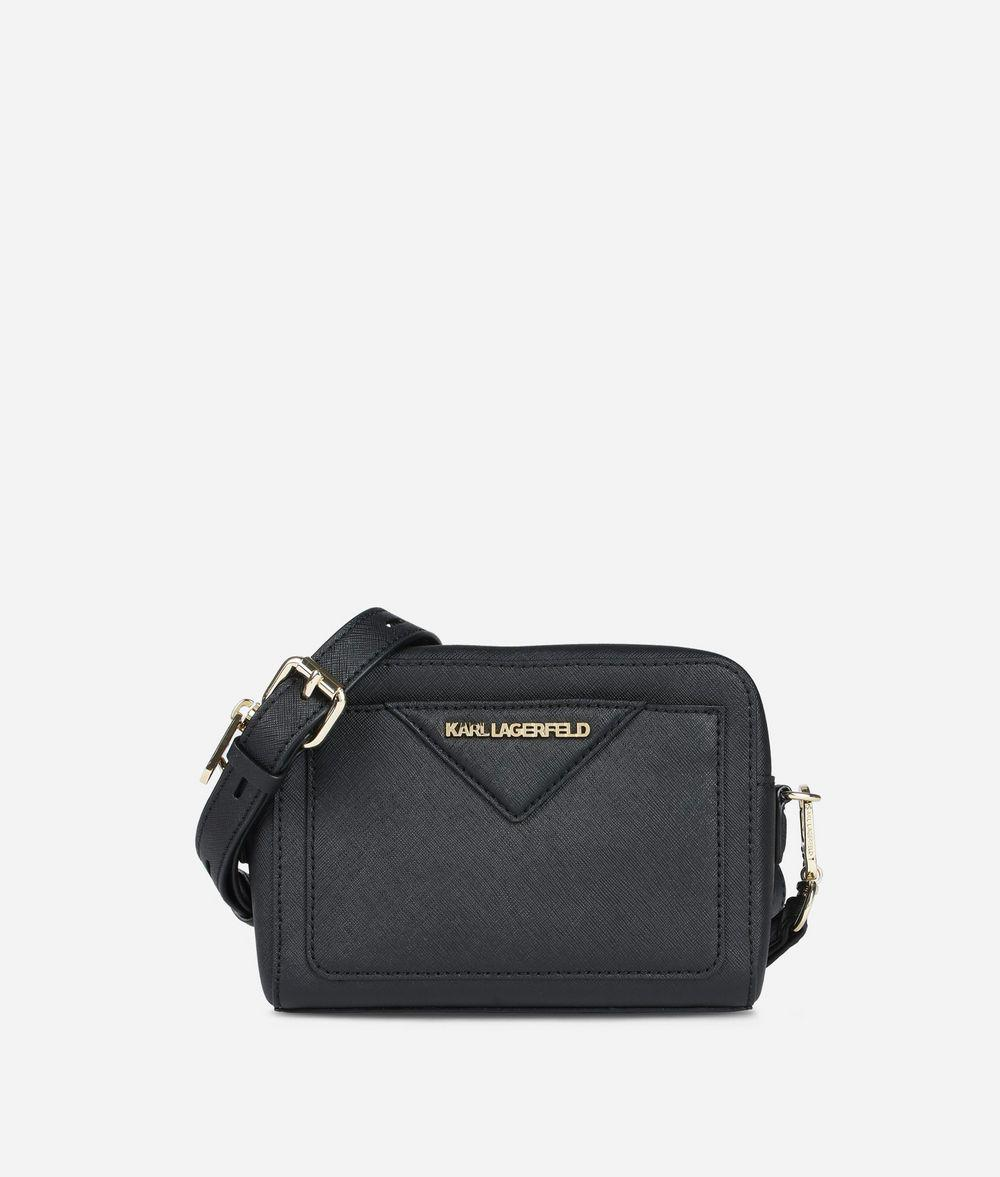 K/Klassik quilted stud camera bag - Black Karl Lagerfeld NMjn6FQx