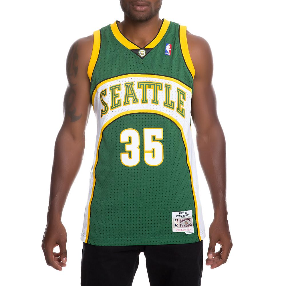 f60c9b4ca55c84 Lyst - Mitchell   Ness Men s Supersonics Kevin Durant Jersey in ...