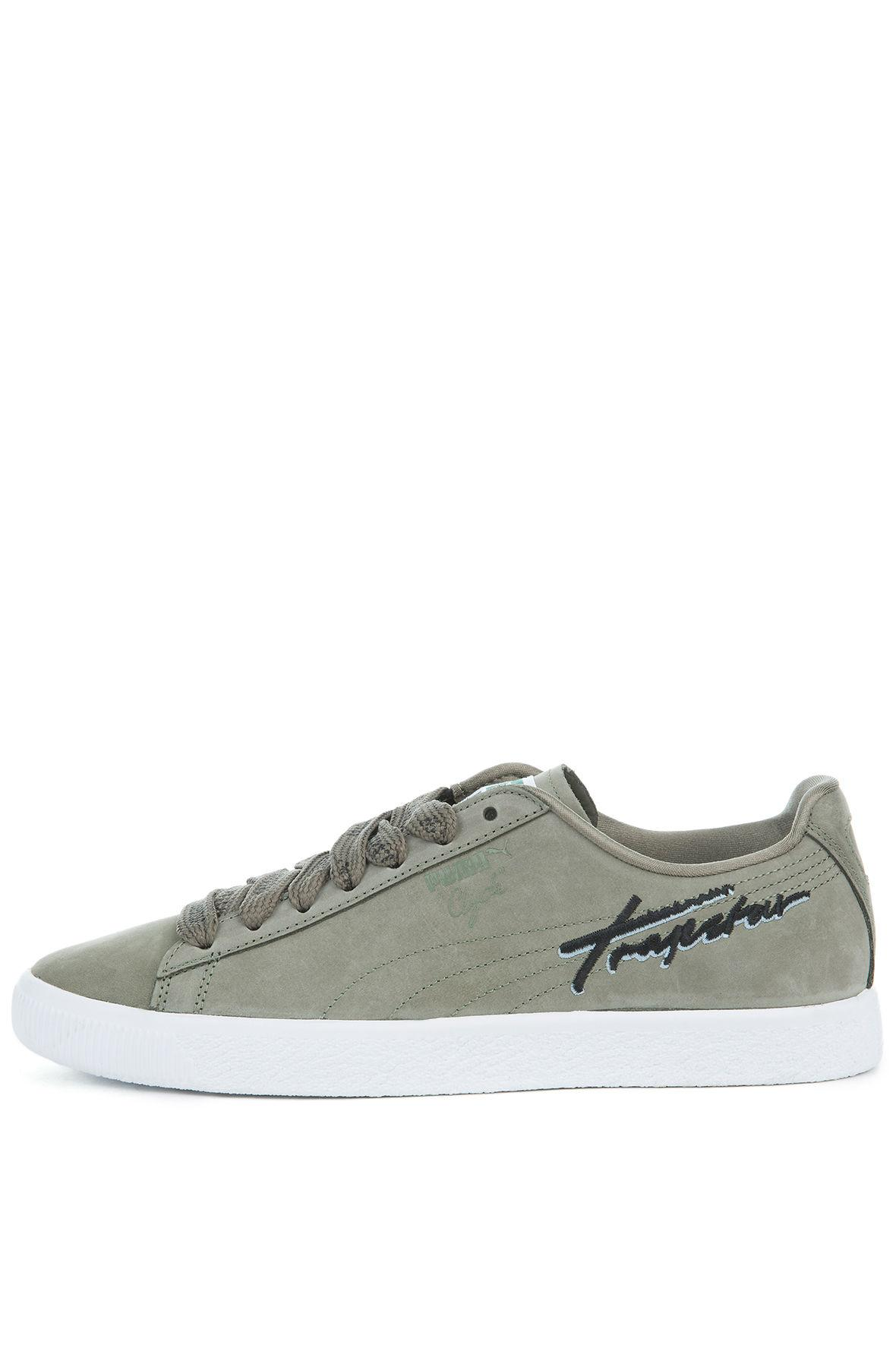 5fb2bbf6813e Lyst - Puma The X Trapstar Clyde Sneaker In Burnt Olive in Green for Men