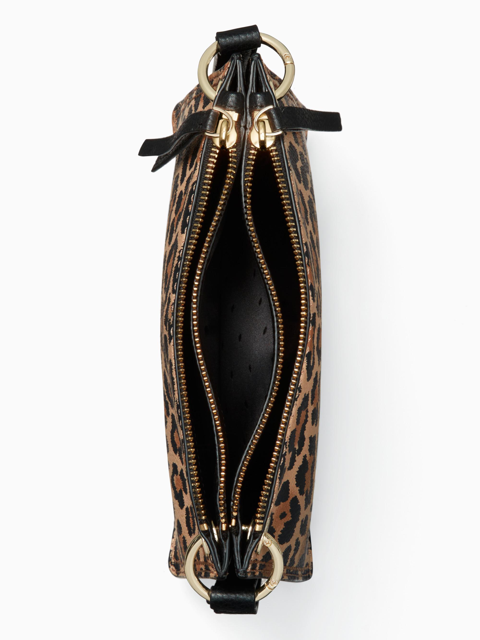 181465ee491e Kate Spade Dunne Lane Leopard Caro - Lyst