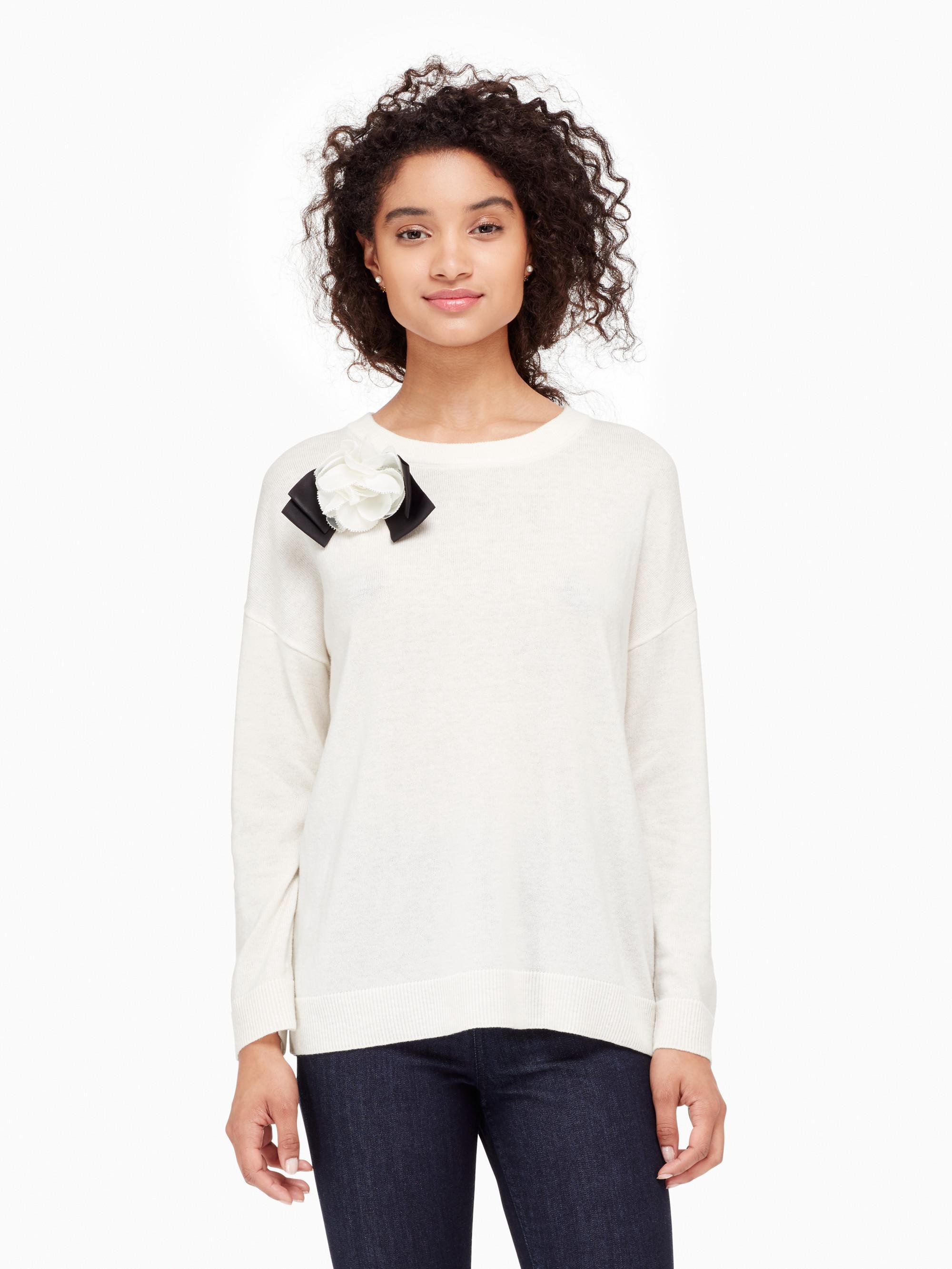 Kate Spade Bow Sweater January 2017