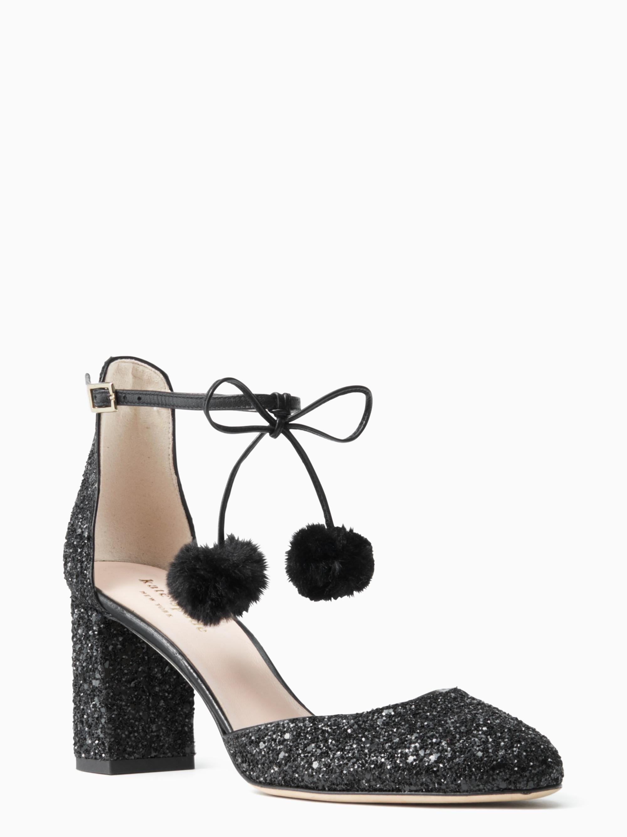 f7c4bd0d7d12 Lyst - Kate Spade Abigail Heels in Black
