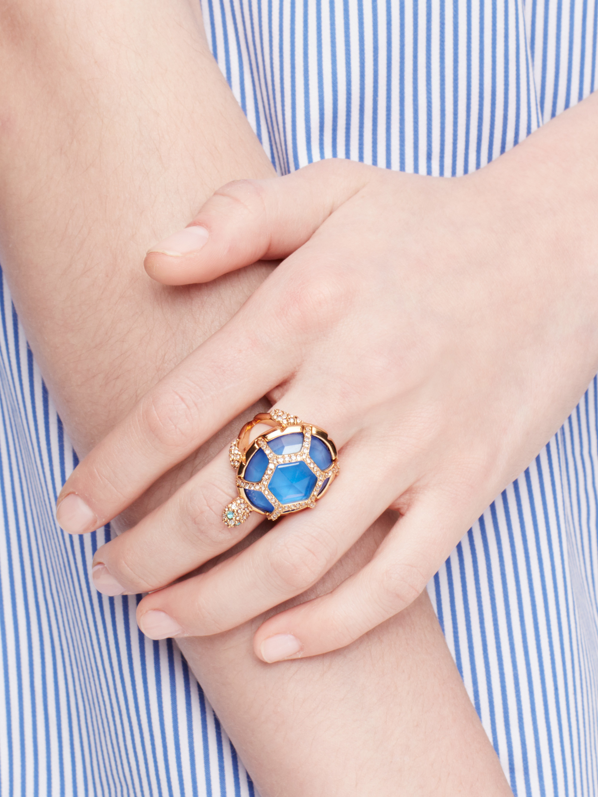 Lyst - Kate Spade New York Paradise Found Turtle Ring in Blue