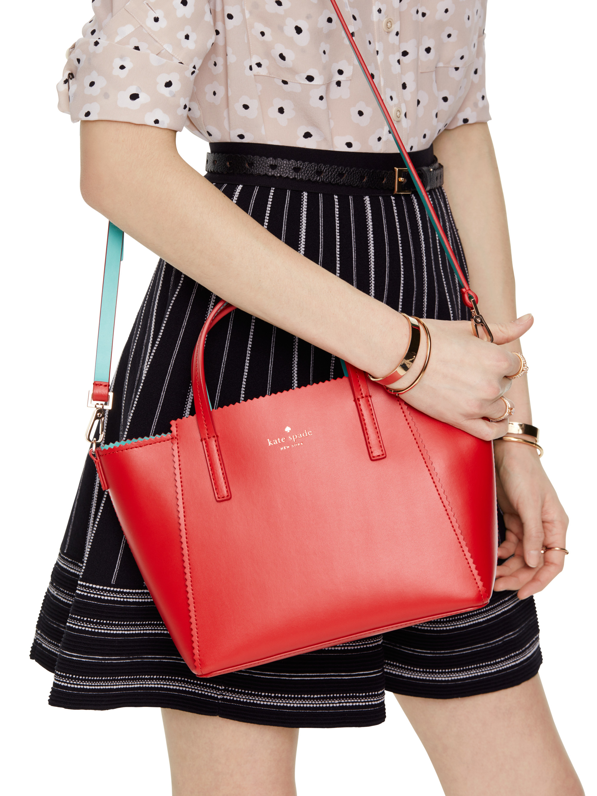7d9a9cf3b3831 Lyst - Kate Spade Ivy Drive Small Loryn in Red