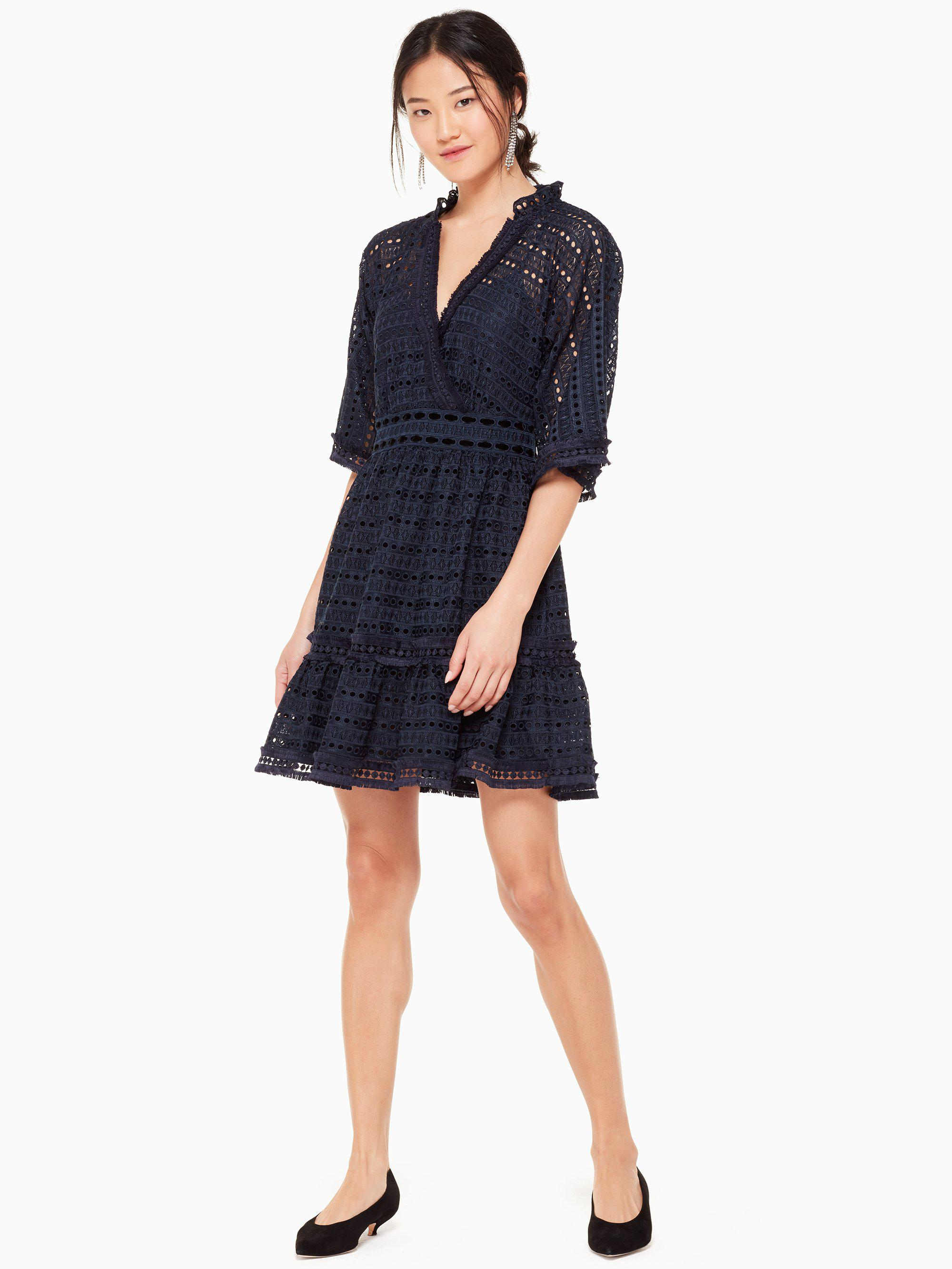 cde2be77c8 Lyst - Kate Spade Hennie Dress in Blue - Save 25%