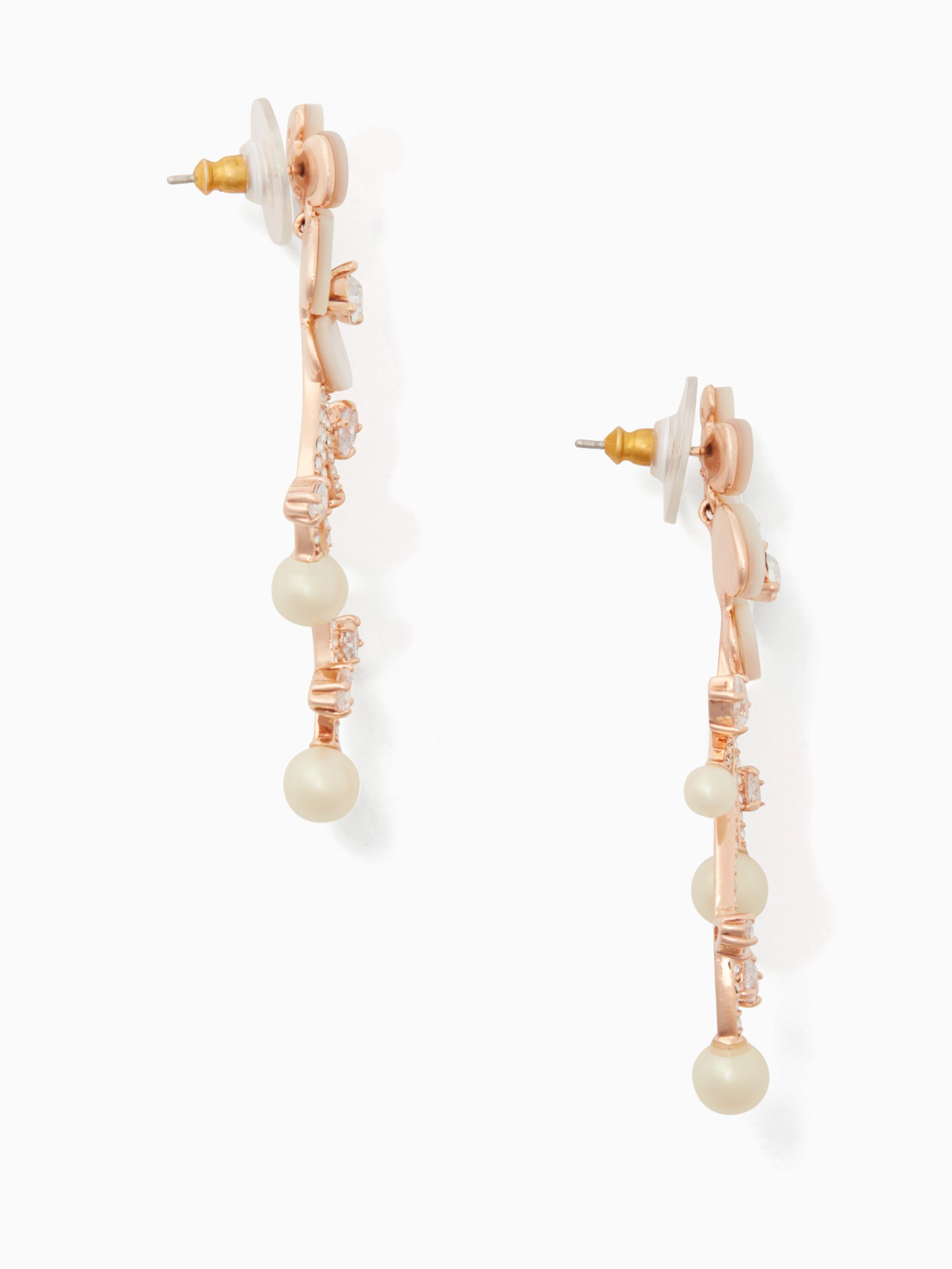 Lyst - Kate Spade Disco Pansy Statement Earrings