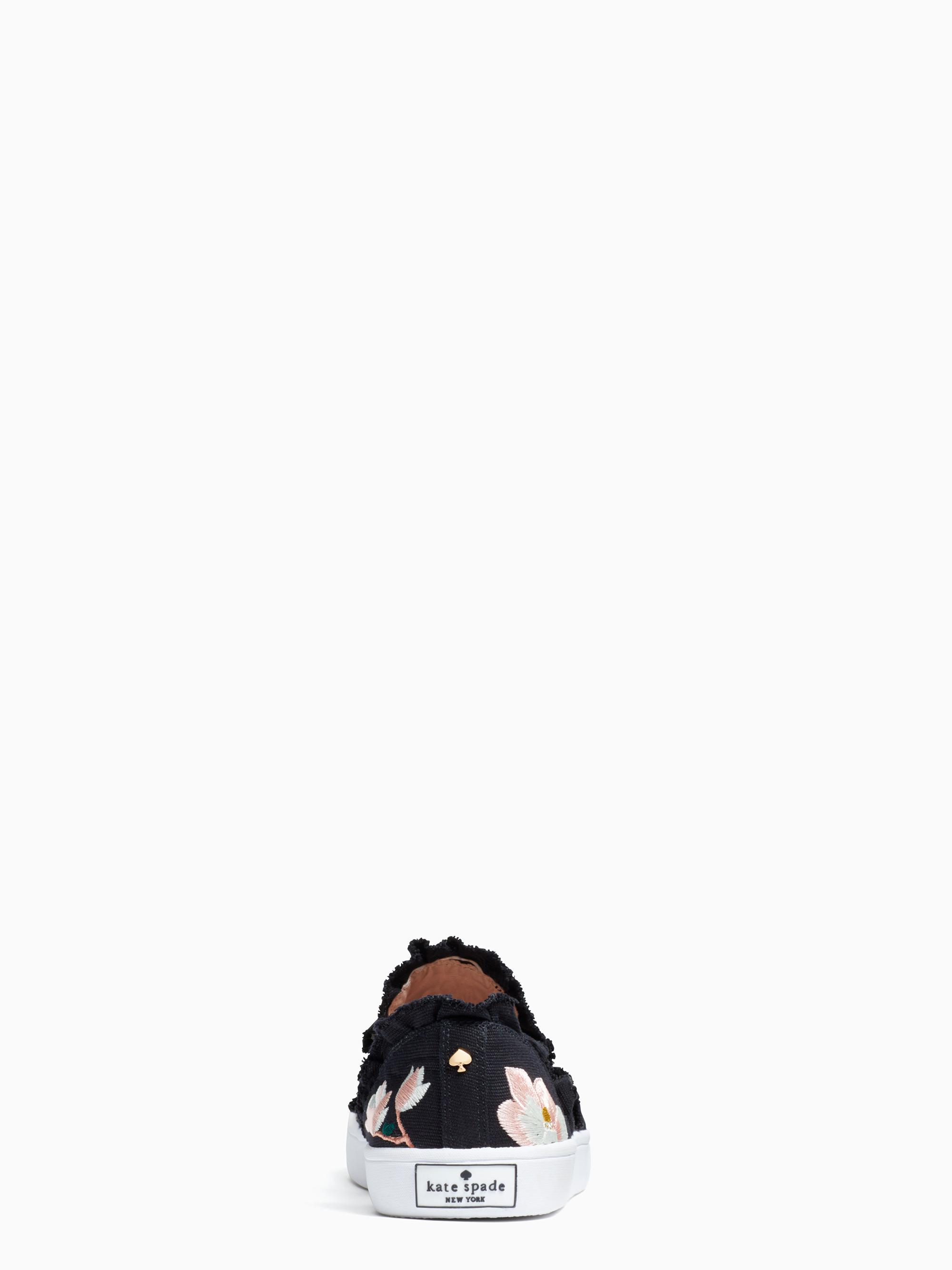 b981ffd0c3da Lyst - Kate Spade Leonie Sneakers in Black