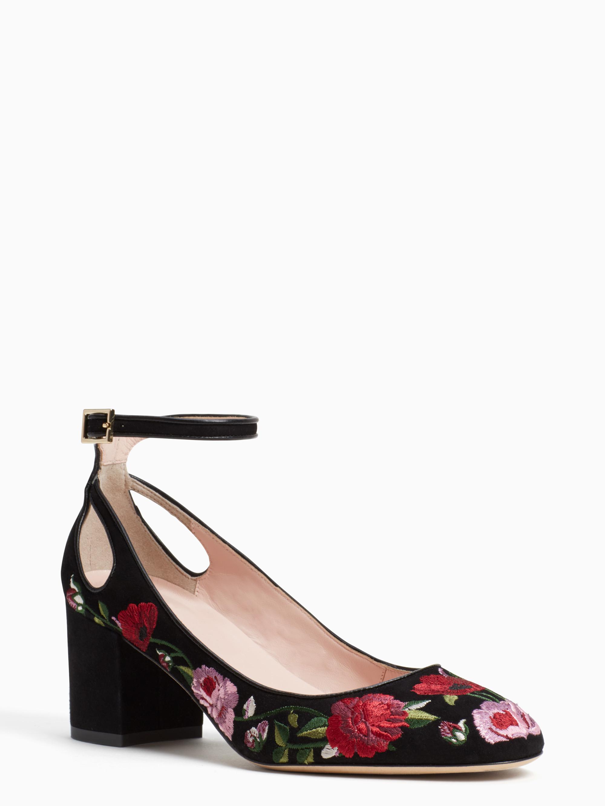 2406035d61b5 Lyst - Kate Spade Gable Heels in Black