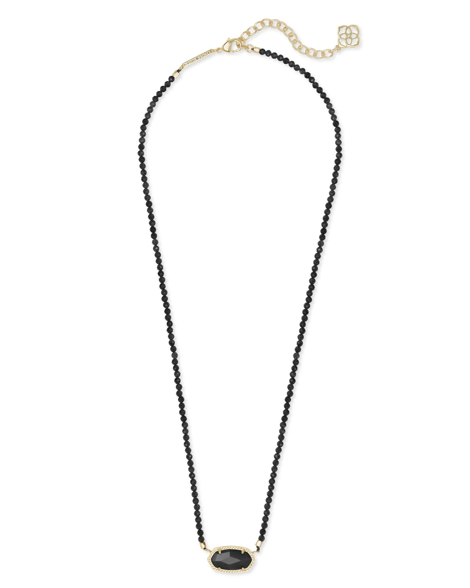 2c47330f6 Lyst - Kendra Scott Elisa Gold Beaded Pendant Necklace in Metallic