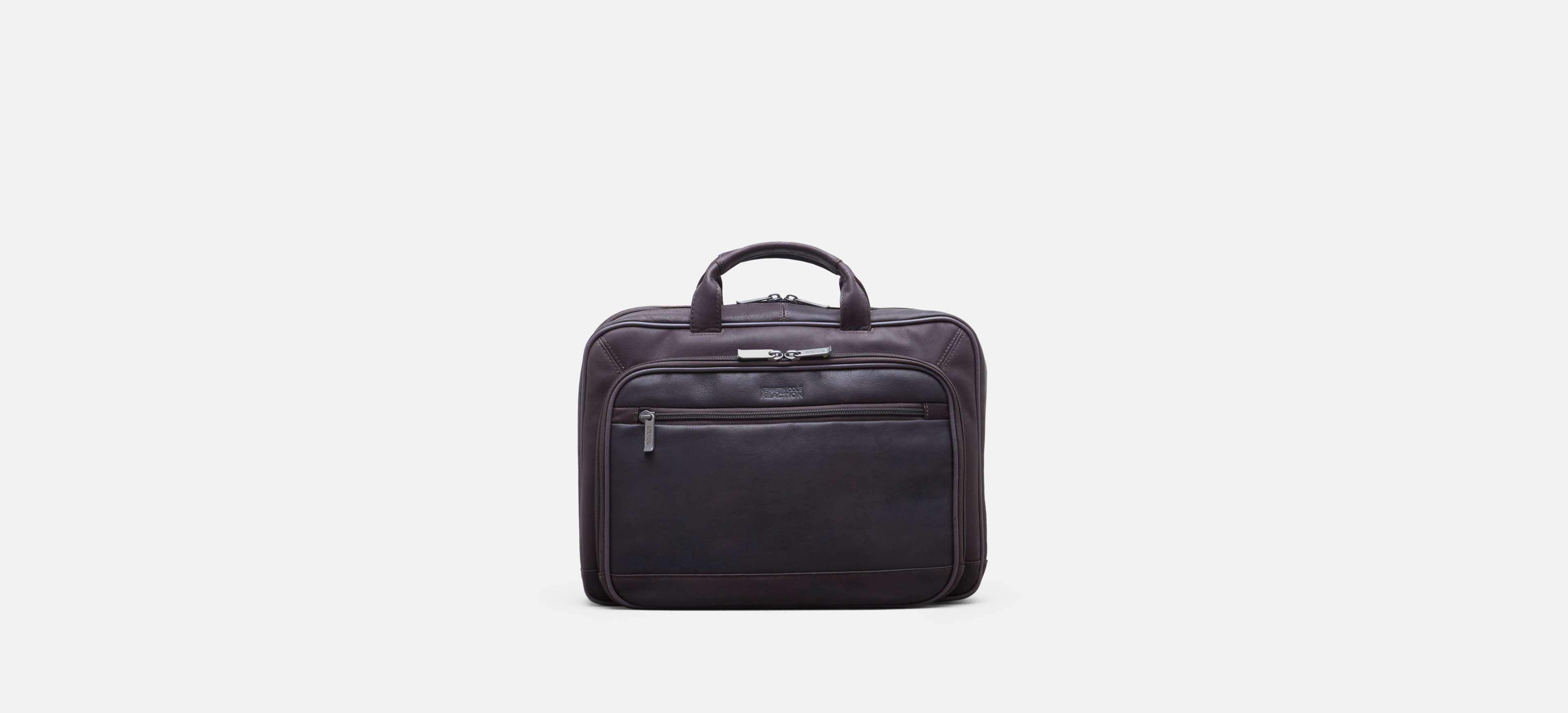 bf89ed416 Lyst - Kenneth Cole Reaction Point Of De-port-ure Leather Computer ...
