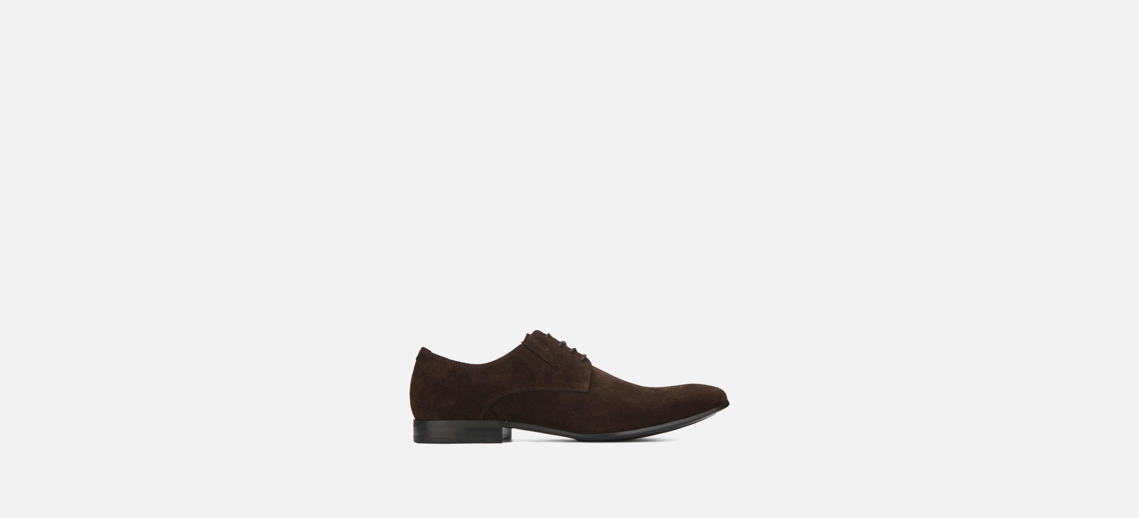 6146f649606f Lyst - Kenneth Cole Mix-er Suede Shoe in Brown for Men