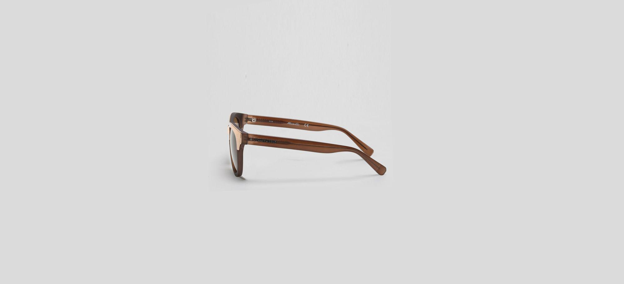 Matte Milky Taupe Oversized Sunglasses Kenneth Cole Jmkexuw