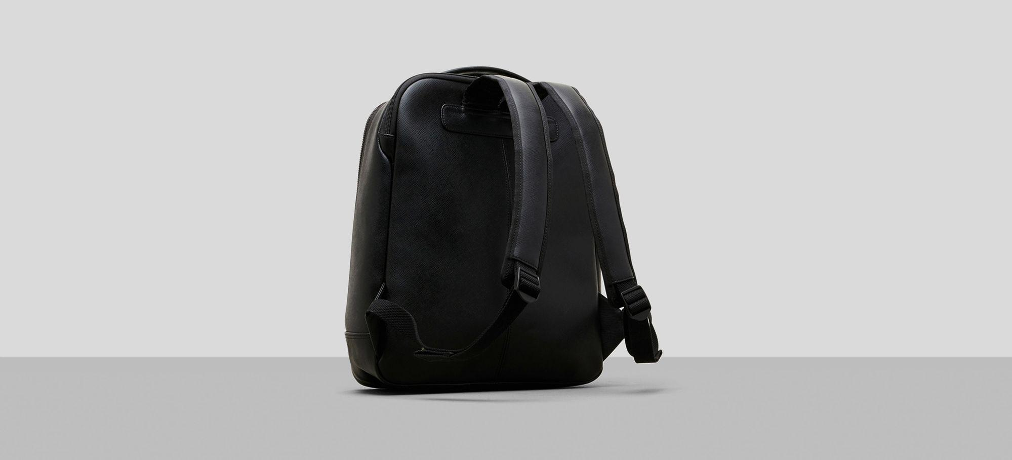 Saffiano Leather Double Compartment Backpack Kenneth Cole Reliable Cheap Sale Low Cost Cheap Browse 5yPbPFqYRJ