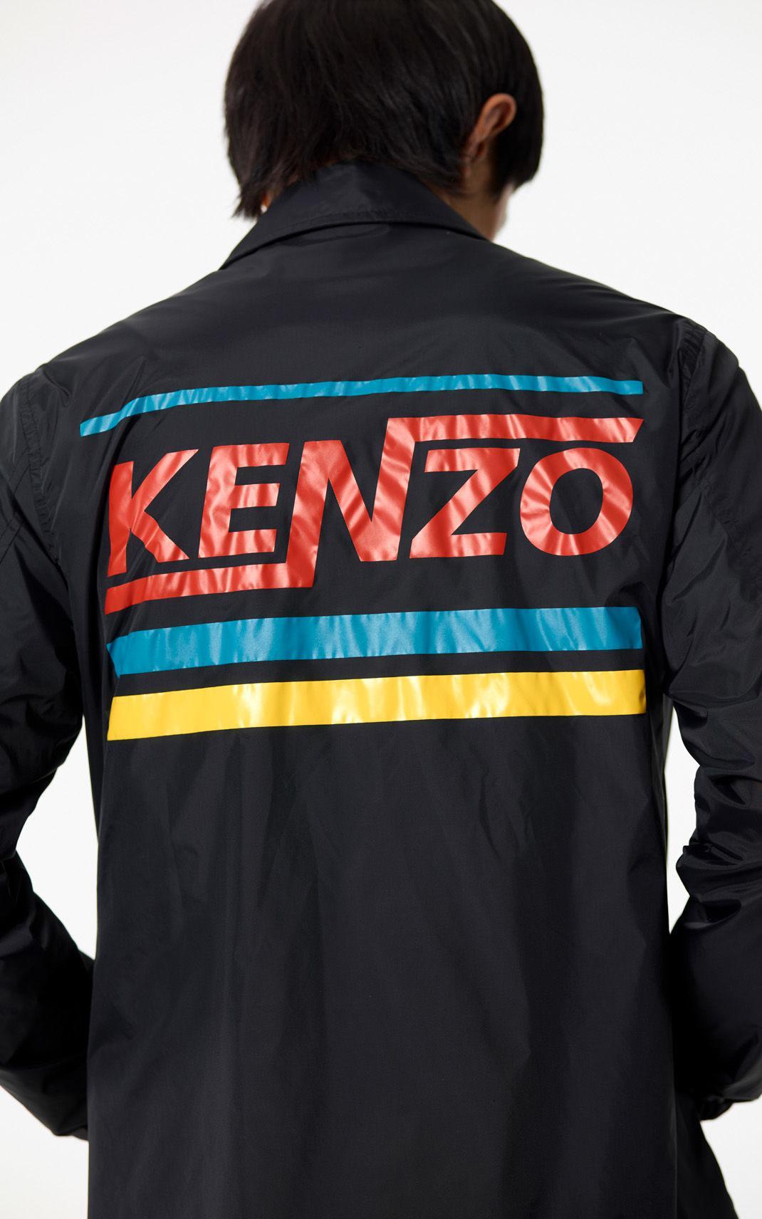 e604b86a Kenzo 'hyper ' Water-resistant Jacket in Black for Men - Lyst