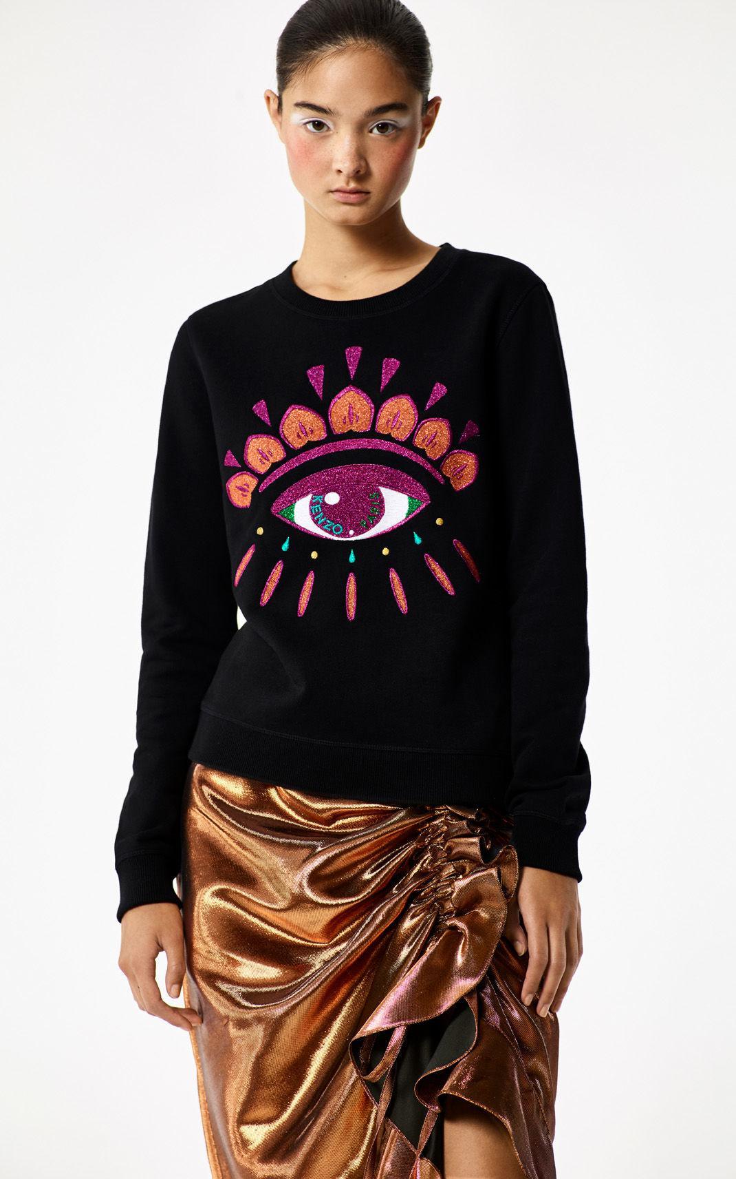 Kenzo 'holiday Capsule Collection' Eye Sweatshirt
