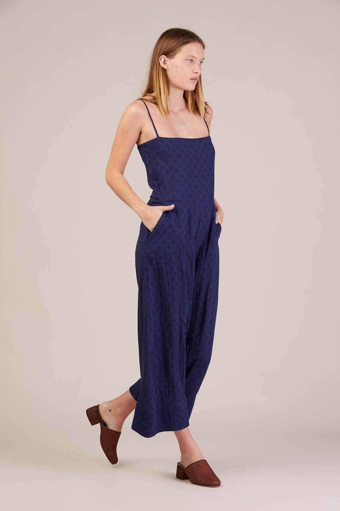 53c71a612797 Lyst - Caron Callahan Mali Jumpsuit in Blue