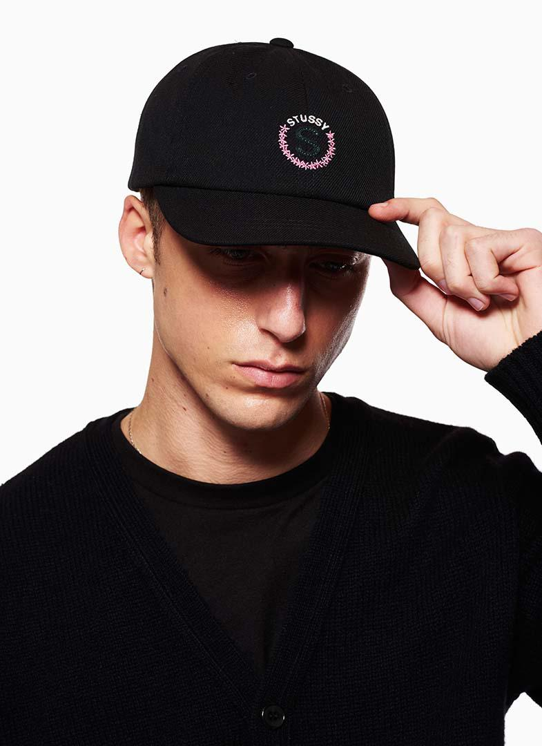 6e00c9aead5f2 Stussy S Logo Low Pro Cap in Black for Men - Lyst