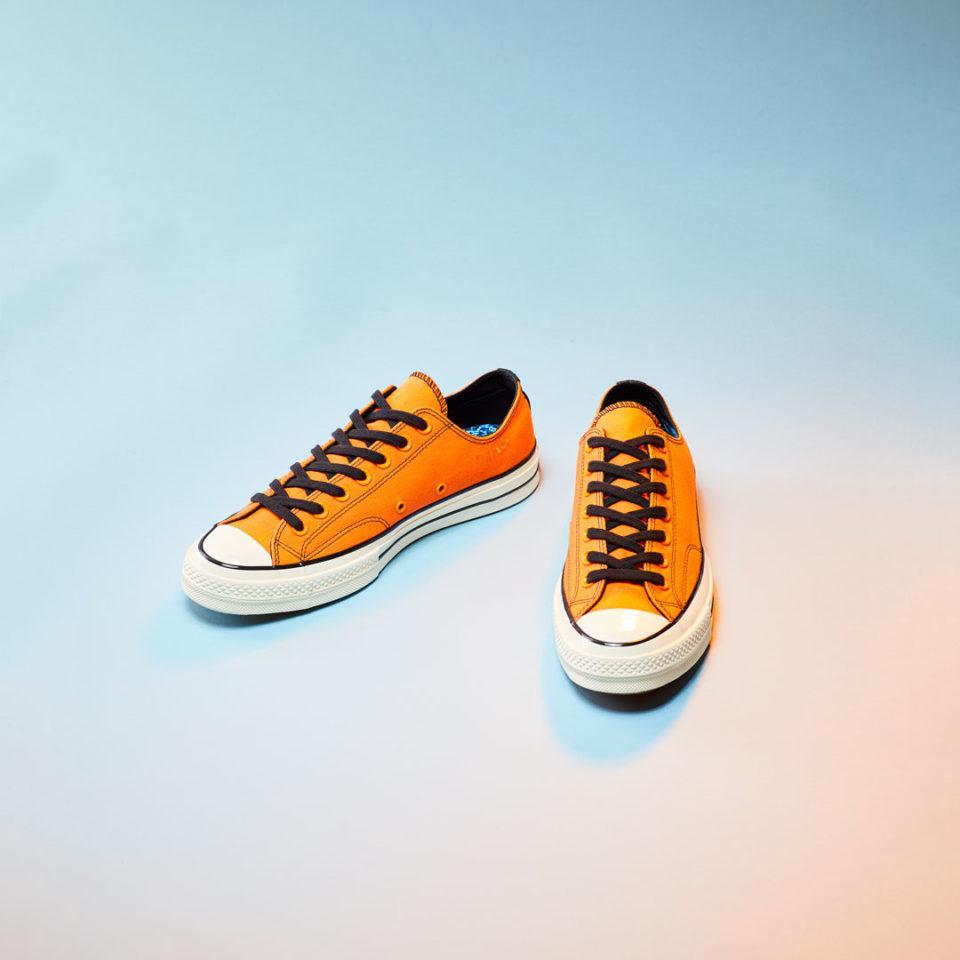 80b1ddc59bf6 Lyst - Converse X Vince Staples All Star 70 Lo Vibrant Orange in Orange