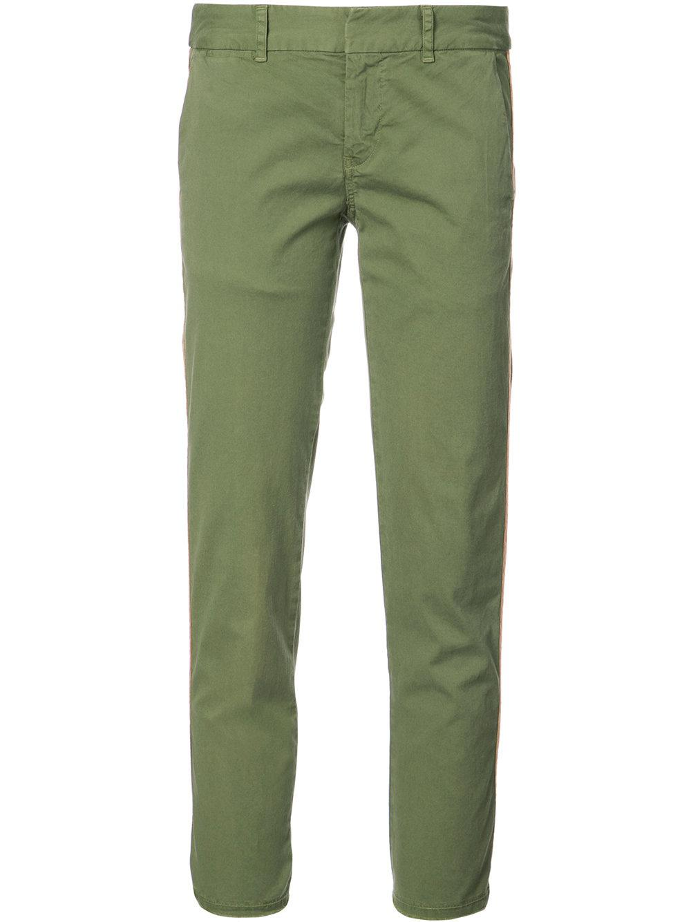 789cb7878 Nili Lotan East Hampton Stripe Panel Trousers in Blue - Lyst