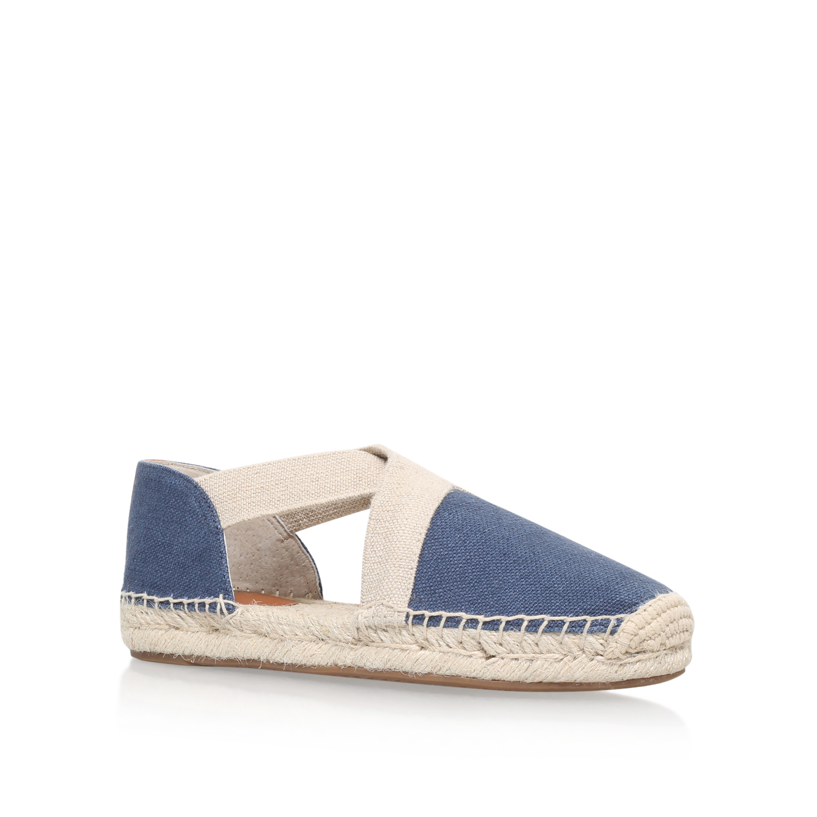 michael michael kors dana espadrille in blue navy save 55 lyst. Black Bedroom Furniture Sets. Home Design Ideas