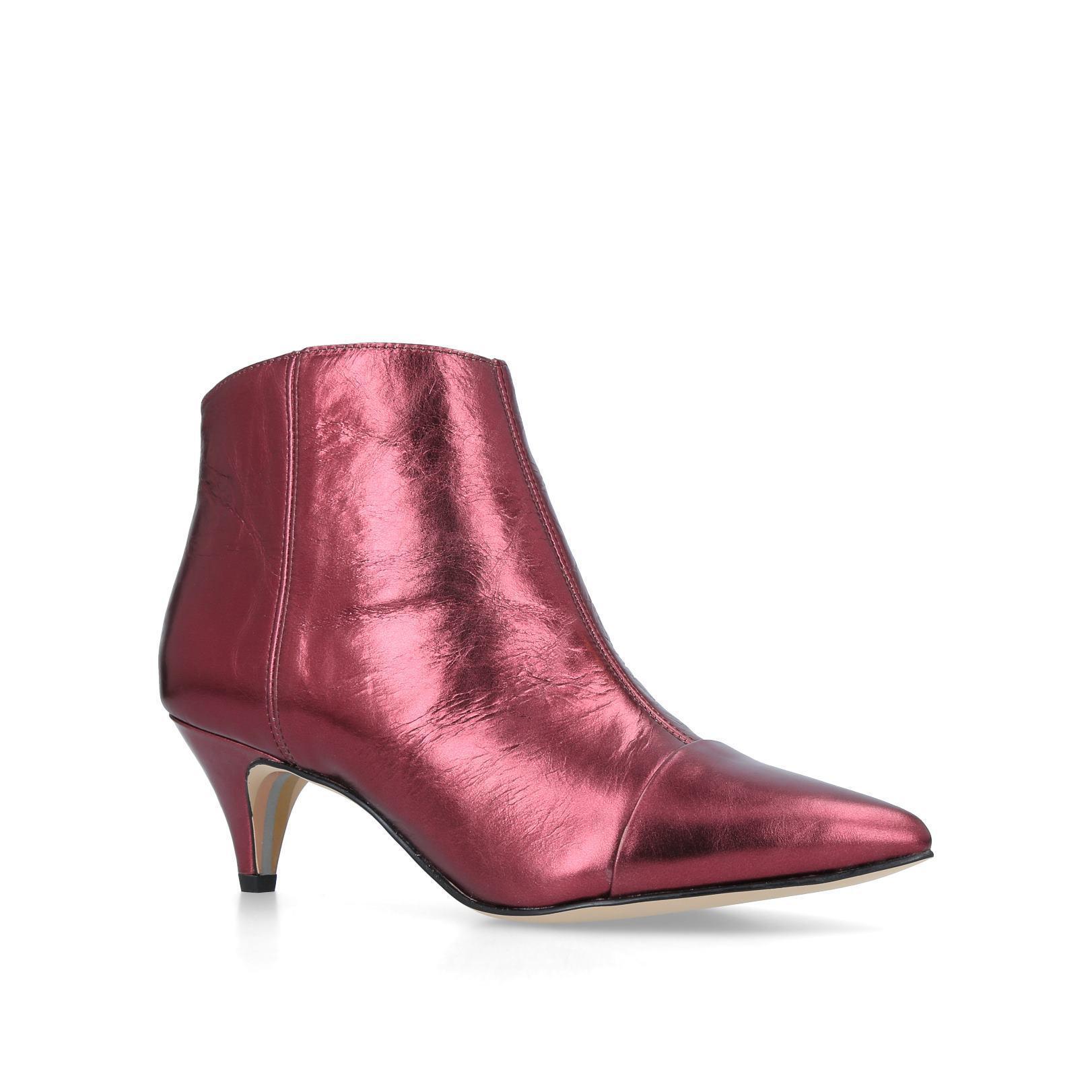 c2927cd335dc4f Sam Edelman Kinzey Boot in Red - Lyst